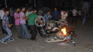 Strike in Dhaka - 18 September
