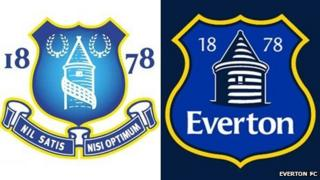 Everton crests
