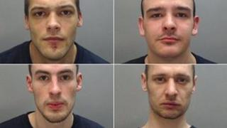 Organised crime gang