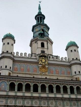 16th Century town hall, Poznan, Poland