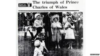 Prince Charles investiture