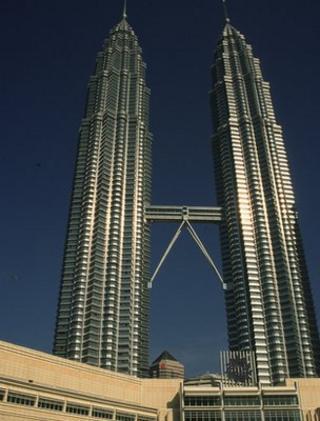 Petronas Twin Towers, Kuala Lumpur (Image: BBC)