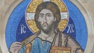 The mosaic of Christ the Pantocrator