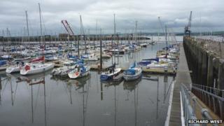 Port Edgar marina