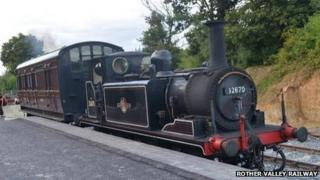 First steam train at Robertsbridge in more than 50 years