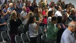Worshippers at the Citygate Centre
