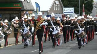 Band of Her Majesty's Royal Marines in Torpoint