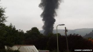 Rhondda fire