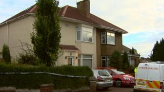 Police were called to the property in Barrachnie Crescent at about 20:20 on Friday
