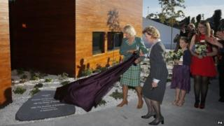The Duchess of Rothesay and the Queen of Norway open the unit