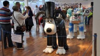 The Gromit exhibition