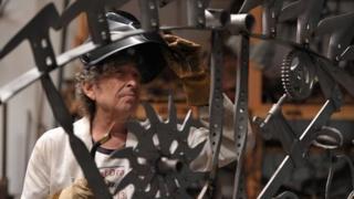 Bob Dylan welding