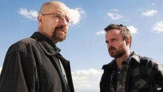 A scene from Breaking Bad