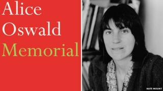 Memorial book cover and Alice Oswald