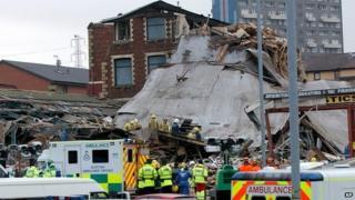 ICL Plastics factory blast in Maryhill