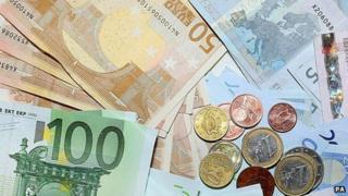 Euro cash - file pic