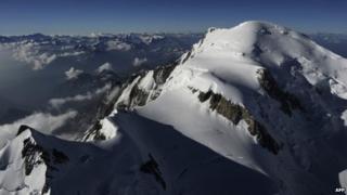 Mont Blanc. File photo