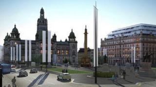 George Square revamp design