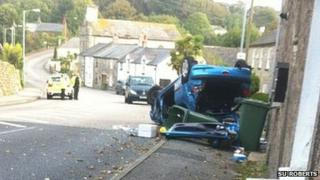 The incident in Lelant Pic: Su Roberts