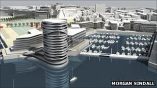 Royal Pier development plan