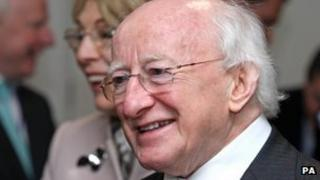 Michael D Higgins is the current Irish president