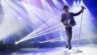 Justin Timberlake at the iTunes Festival