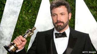 Ben Affleck with Argo's Best Film Oscar