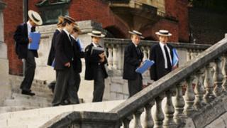 Private school pupils