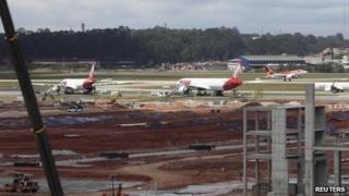 Guarulhos airport, Sao Paulo, 26 Sep 13