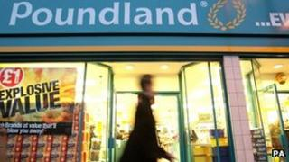 Poundland aims to have 1,000 stores in the UK