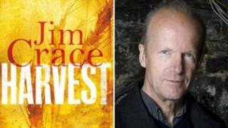 Harvest cover and Jim Crace