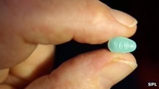 Losartan pill