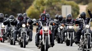 Motorcyclists in Australia (September 2013)