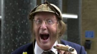 Racing pundit John McCririck, who has accused Channel 4 of ageism
