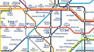 FA Tube map