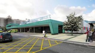 Fazakerley Hospital in Liverpool