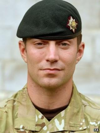 Corporal Oliver Bainbridge