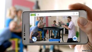 Ikea's Augmented Reality app