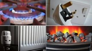 Gas ring, plug socket, radiator, electric fire