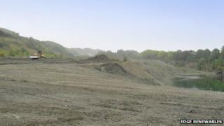Wenlock Edge quarry