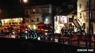 Fire in St Ives