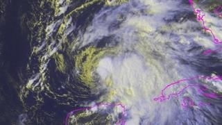 Tropical Strom Karen. 3 Oct 2013