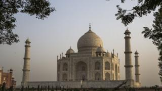 The Taj Mahal is one of India's most iconic monuments