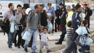 Lampedusa migrants, 4 Oct 13