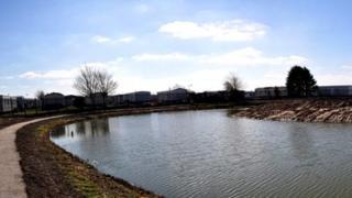 Pool at Rhyl Cut