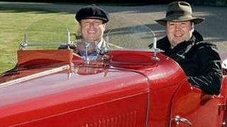 Antiques experts James Braxton and Thomas Plant from Antiques Road Trip
