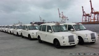 White taxis