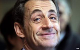 Former French President Nicolas Sarkozy