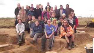 Barber's Point dig, Aldeburgh