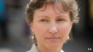 Marina Litvinenko outside the High Court on 12 July 2013